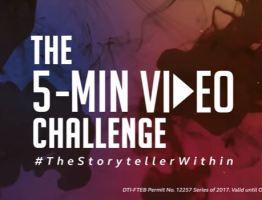 Singtel launches the 5-minute video challenge
