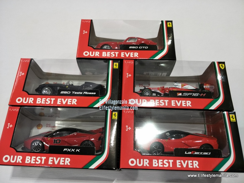Get Your Own Limited Ferrari Toy Car Collection From Shell