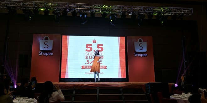 Anne Curtis is Shopee's First Brand Ambassador at 5.5 Shopee Super Sale