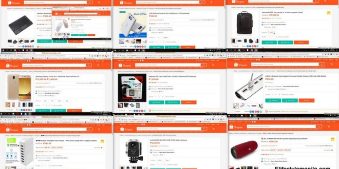 Top 10 Blogger items from SHOPEE