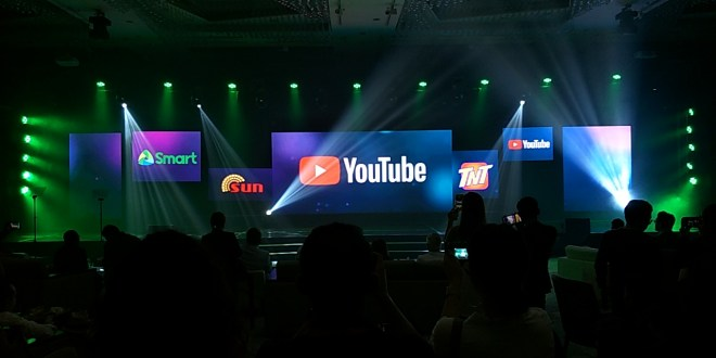 Get 1 hour of FREE YOUTUBE everyday from Smart, Sun, Talk n Text