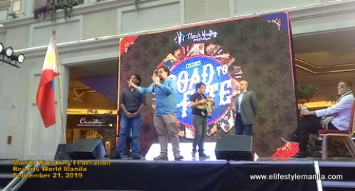 Filipino Wrestling group shows what they are made of at the Resorts World Manila