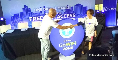 Globe GoWiFi powers Makati City