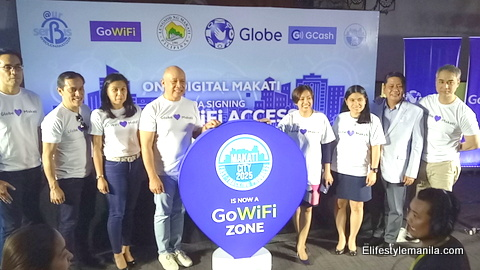 Globe signs MOA with MAKATI CITY for FREE WiFi