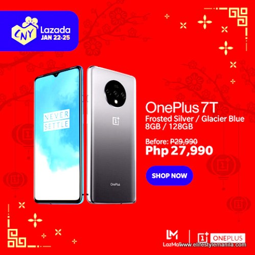 OnePlus Lazada Chinese New Year Sale