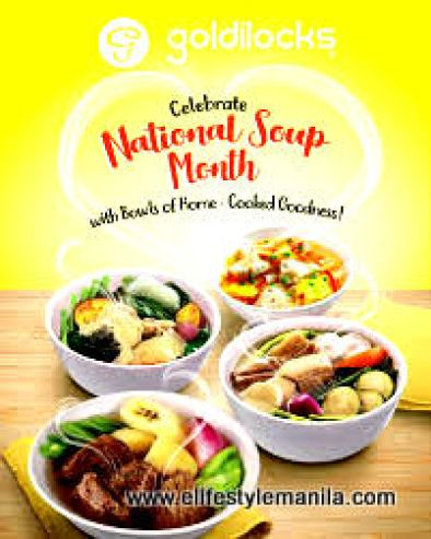 New Soup for the Soul from Goldilocks