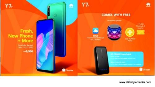 Huawei Y7P Shopee