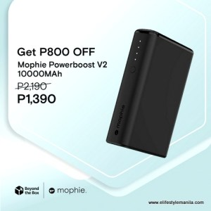 Power up Mophie powerbanks and get upto 70% off