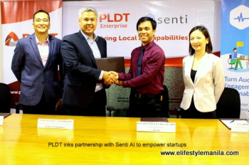 PLDT inks partnership with Senti AI to empower startups