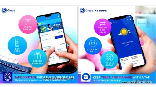 GlobeOne and Globe at Home apps