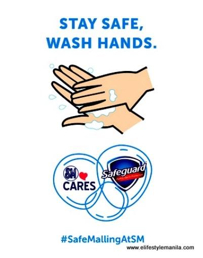 SM and Safeguard partners for #safehandsatSM campaign