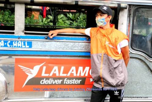Join ZRewards and help a LalaJeep driver