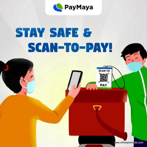Paymaya scan to pay