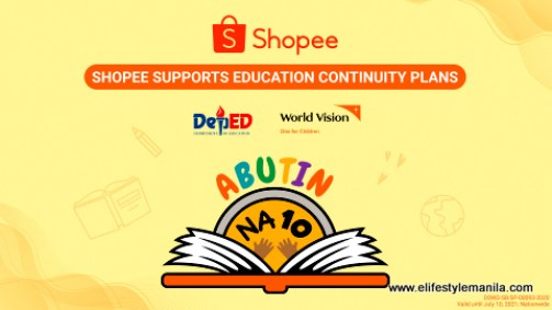 Shopee, World Vision and DepEd