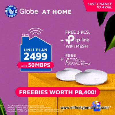 Globe at home wifi mesh