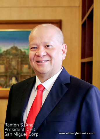SMC President and CEO Ramon S. Ang