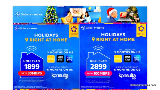 Globe Telecom Globe at Home unli plans