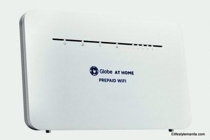 Globe at Home Prepaid WiFi LTE Advanced CAT7 modem