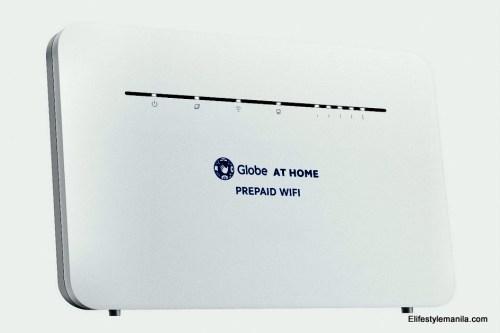 Globe at Home prepaid LTE-advanced prepaid WiFi