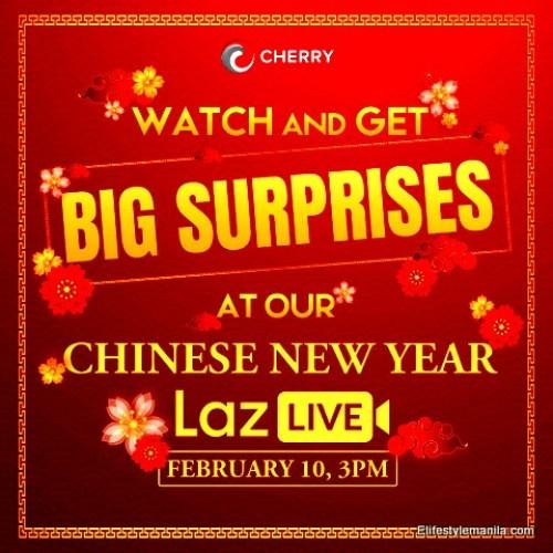 Chinese new year with Cherry