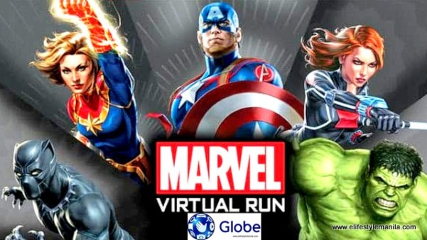Globe Telecom and Marvel Virtual Run