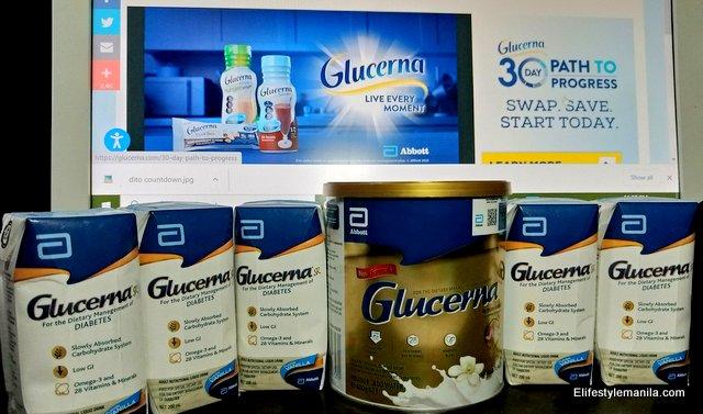 Glucerna Triple Care in Shopee
