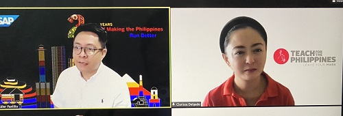 SAP grant to Teach for the Philippines