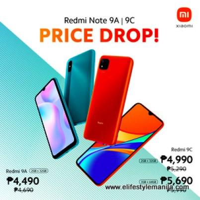 Xiaomi Redmi 9A and 9C price drop