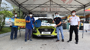 A Hyundai Kona winner