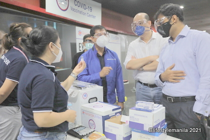 Concentrix gives free covid-19 vaccination