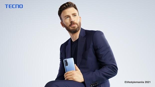 TECNO Mobile Ambassador Chris Evans