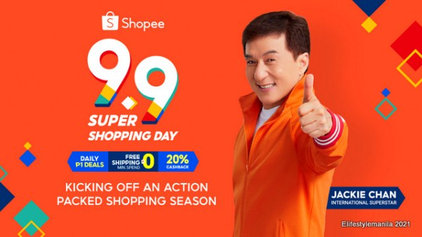 Shopee 9.9 ambassador Jackie Chan