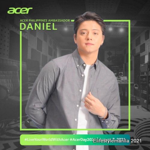 Daniel Padilla joins Acer Day 2021