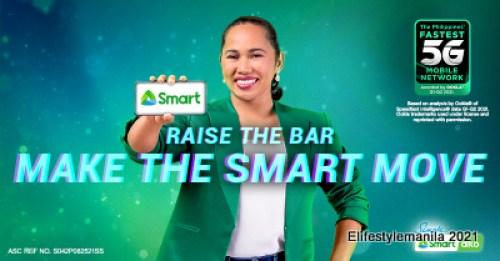 Hidilyn Diaz joins Smart Communications family