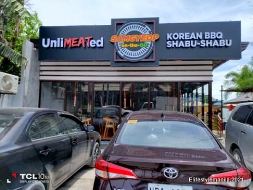 Samgyeop on the go unlimeated korean BBQ Shabu-Shabu Pampanga