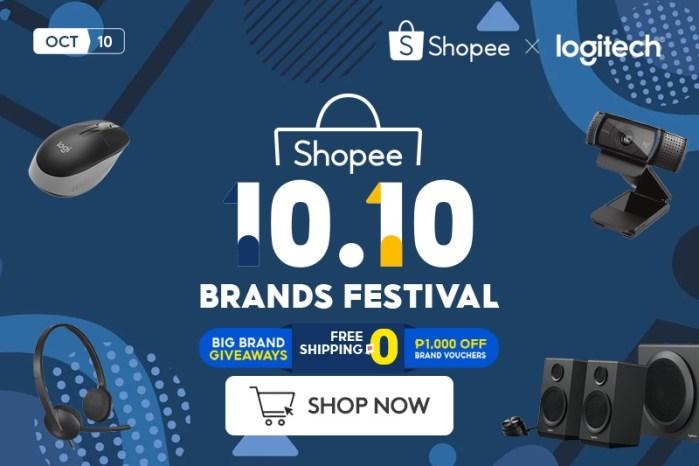Logitech G Gaming Gears in Shopee 10.10