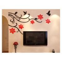 Buy Flower Vine Corner Bail Acrylic Wall Art at | Elifor.pk