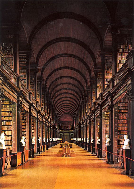 The Long Room, Trinity College Library, Dublin, Ireland