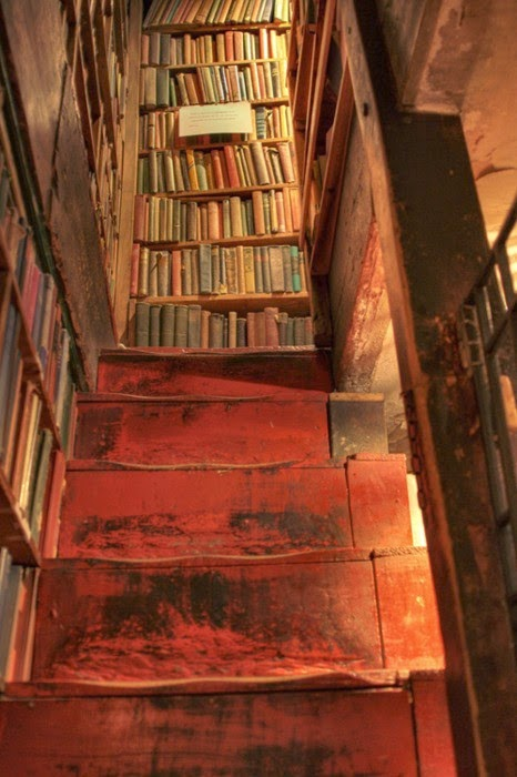 Stairway, Shakespeare and Company Bookstore, Paris