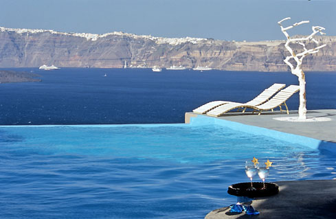 Astarte Suites Hotel , Infinity Pool , Santorini Greece