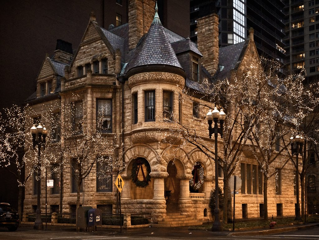 19th Century Victorian House, Chicago, Illinois
