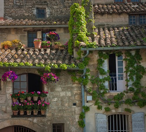 Tile Roof, Provence, France