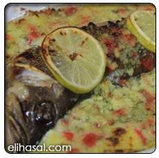 سمك بالبطاطس البيورية