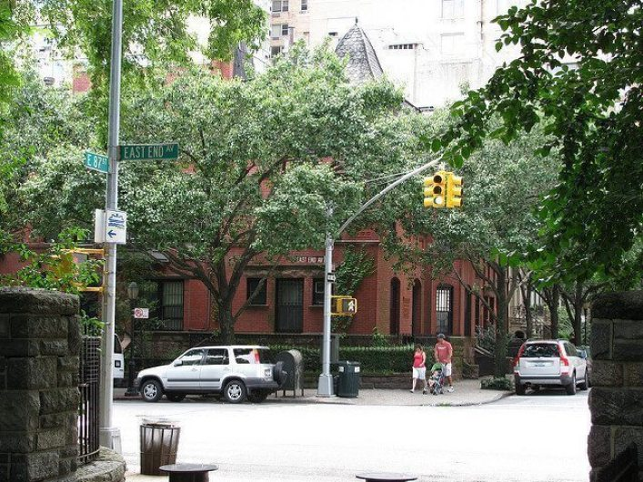 Queen Ann Style Manhattan Townhouse