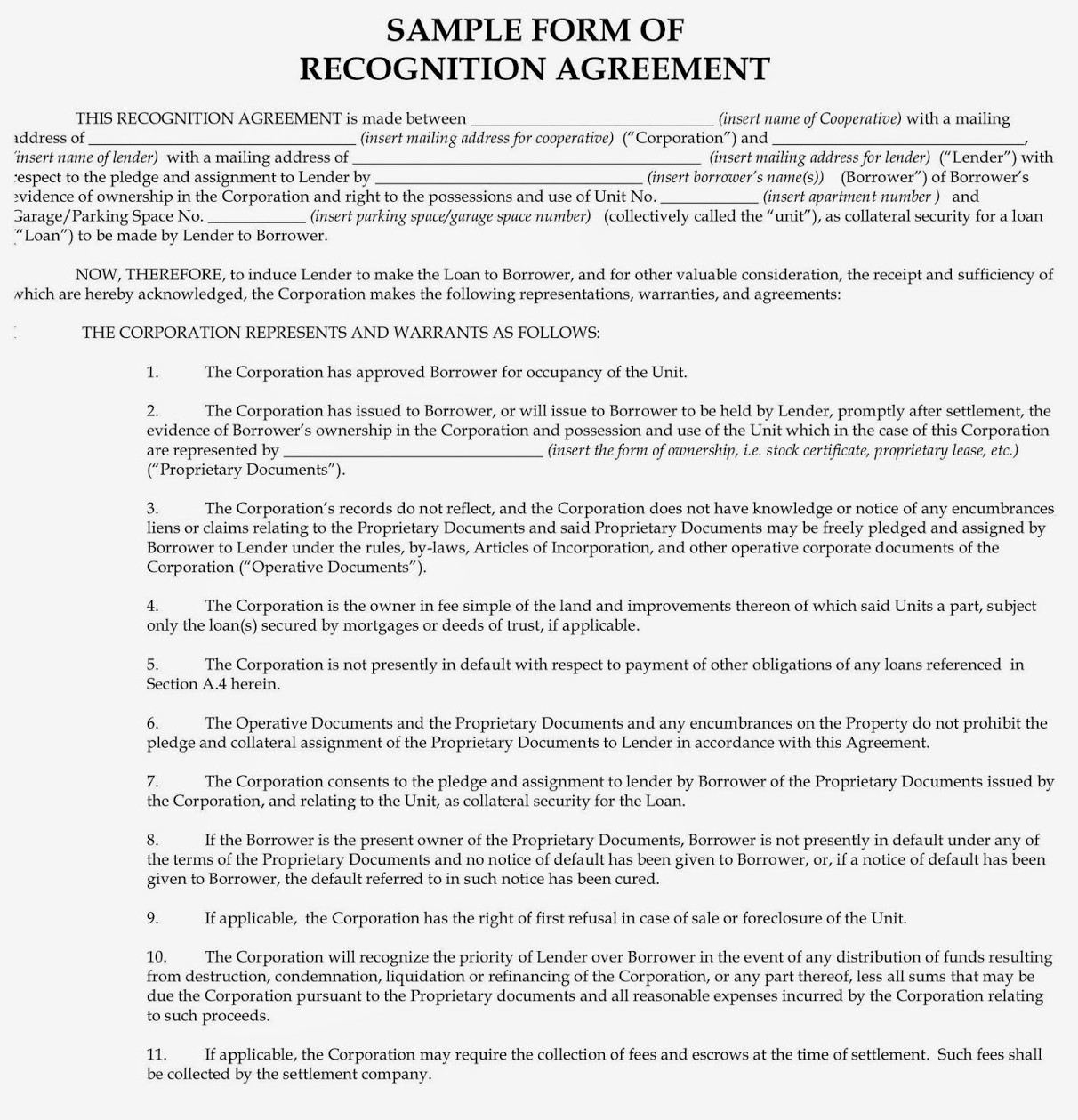 Aztech Recognition Agreements for Co-ops Explained