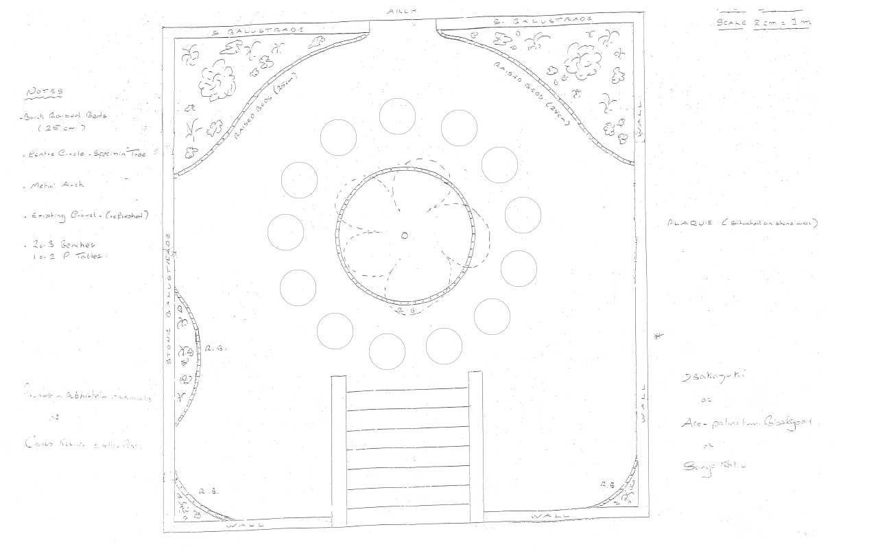 The Vumba Memorial Garden