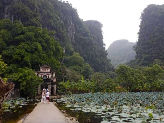 Pagoda Bich Dong, provincia di Ninh Binh, Vietnam