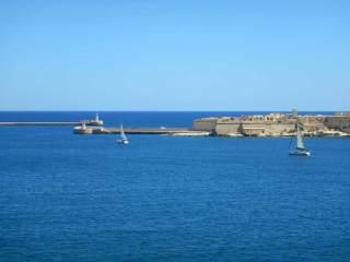 Vista da Forte Sant'Angelo, Vittoriosa