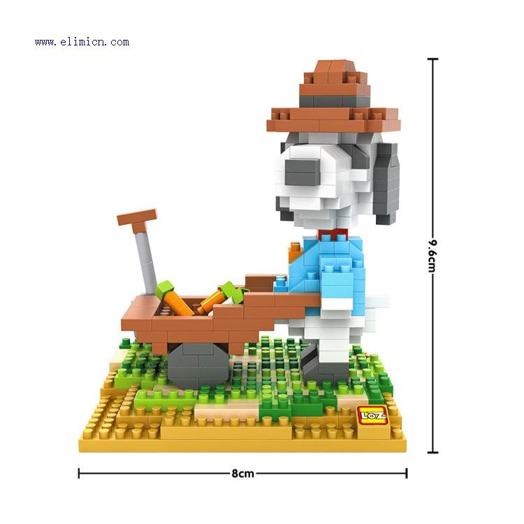 LOZ Diamond Blocks Snoopy 9526