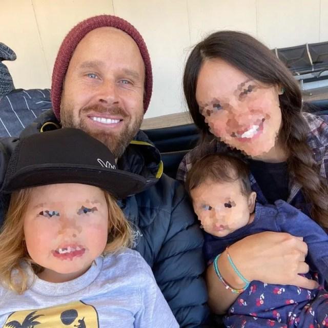 Mattew  aparentaba una familia feliz en redes.